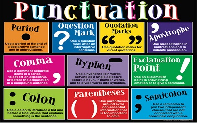 punctuation-PTE