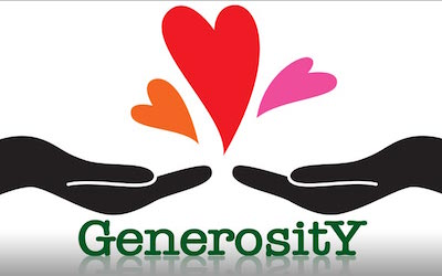PTE新题写作:What does generosity mean to you?